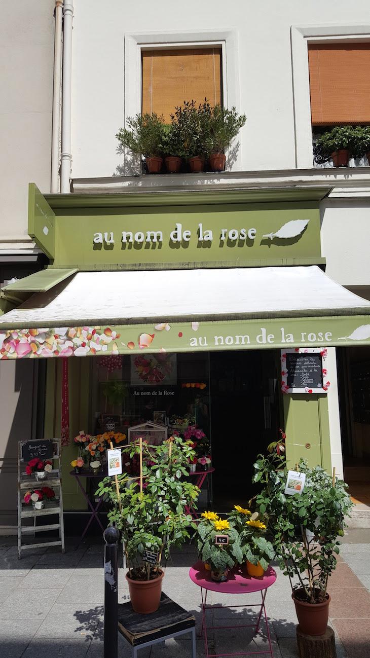 Au Nom de la Rose na Rua Cler, Paris © Viaje Comigo