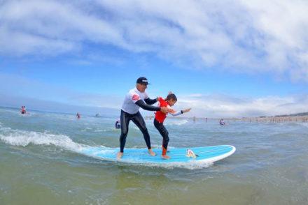 Aulas com a Buondi Surf Sessions com Garrett McNamara - Direitos Reservados