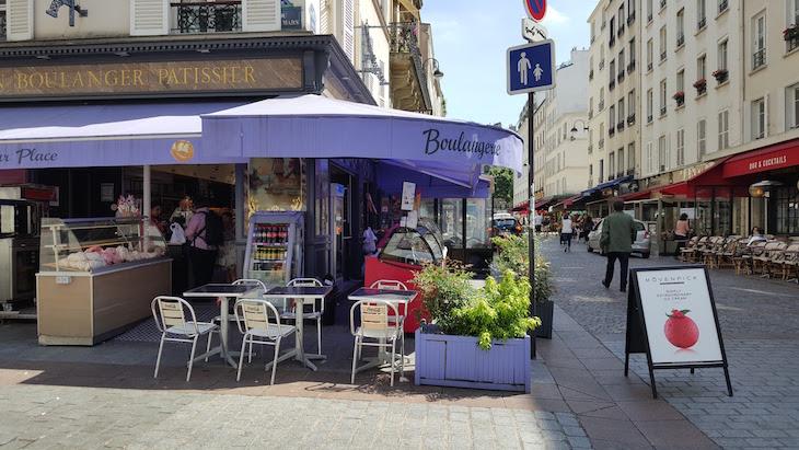 Boulangerie da Rua Cler, Paris © Viaje Comigo
