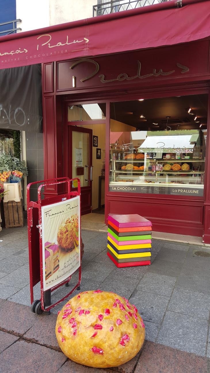 Chocolates na Rua Cler, Paris © Viaje Comigo