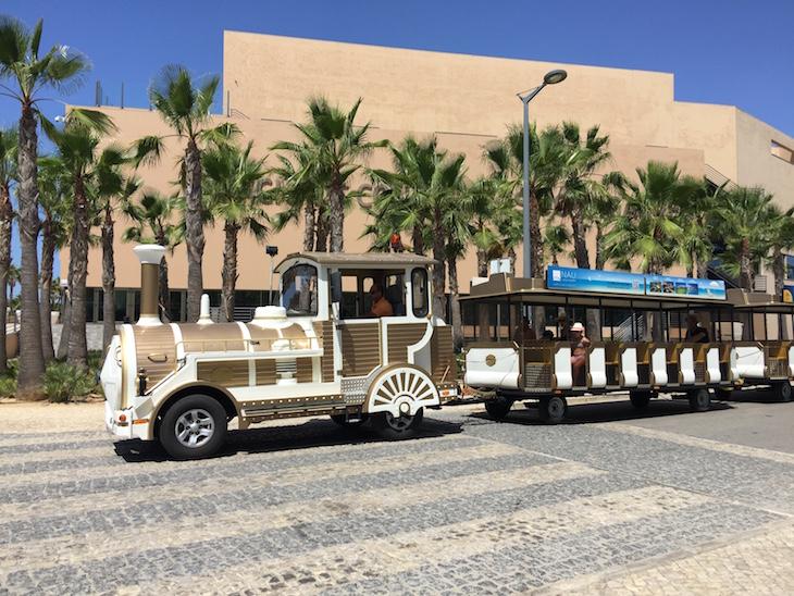 Comboio no Salgados Palace © Viaje Comigo
