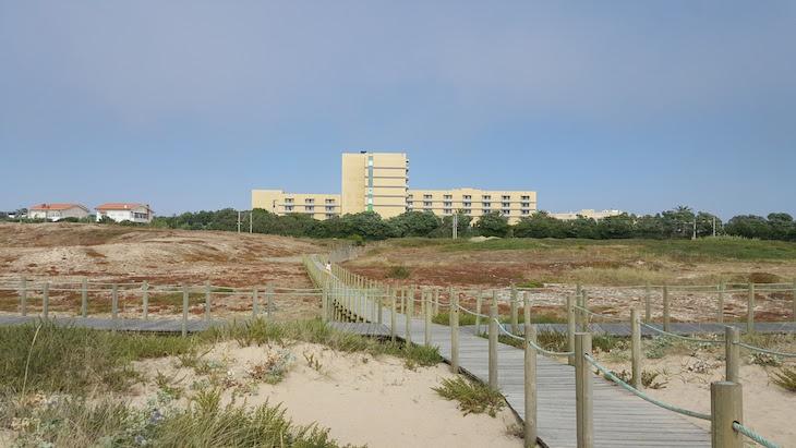 Hotel Solverde visto da praia © Viaje Comigo