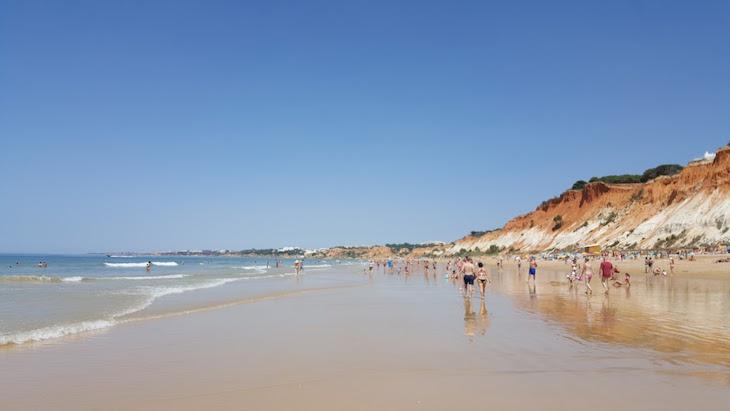 Praia da Falésia, Algarve © Viaje Comigo