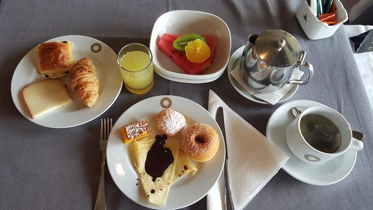 Pequeno-almoço no Hotel Solverde © Viaje Comigo