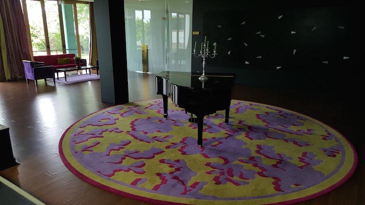Piano no Hotel Forte de São Francisco, Chaves © Viaje Comigo