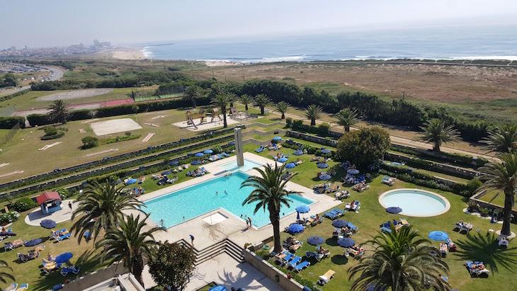 Piscinas do Hotel Solverde © Viaje Comigo