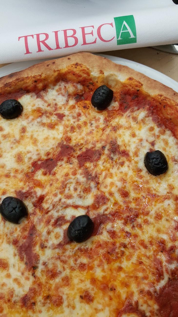 Pizza no Tribeca na Rua Cler, Paris © Viaje Comigo