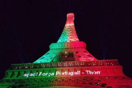 Portugal na Torre Eiffel © Viaje Comigo