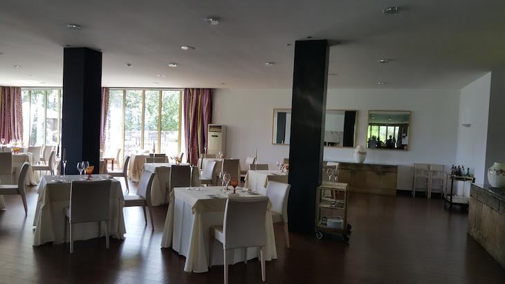 Restaurante do Hotel Forte de São Francisco, Chaves © Viaje Comigo