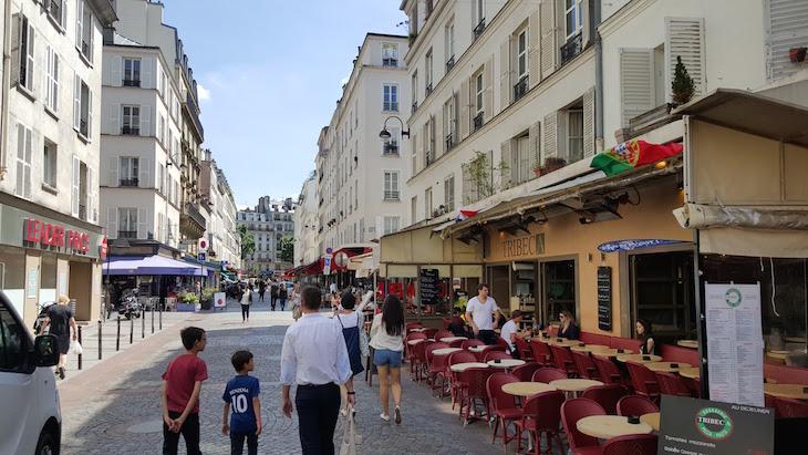 Restaurante Tribeca na Rua Cler, Paris © Viaje Comigo