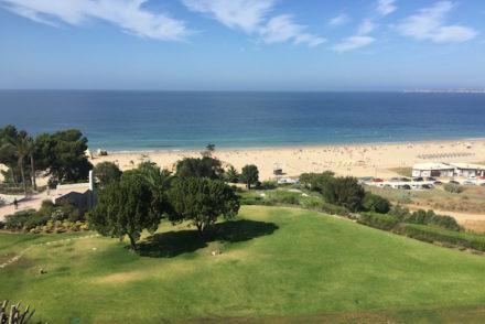 Vista do quarto, no Hotel Pestana Alvor Praia © Viaje Comigo