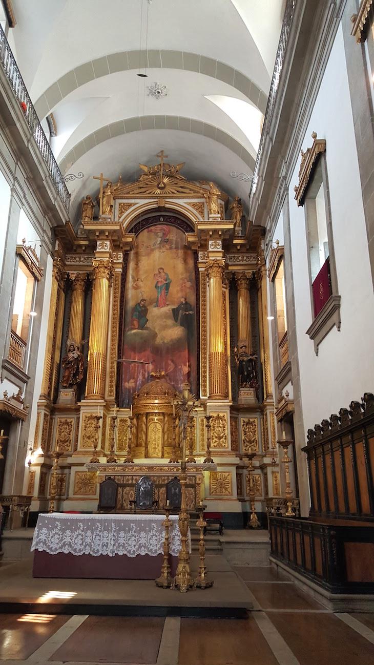 Altar da Igreja das Almas de São José das Taipas © Viaje Comigo