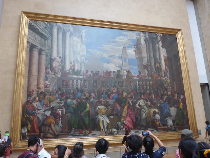Bodas de Caná - Museu do Louvre, Paris © Viaje Comigo