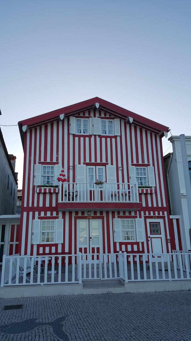 Casa da Costa Nova, Aveiro © Viaje Comigo