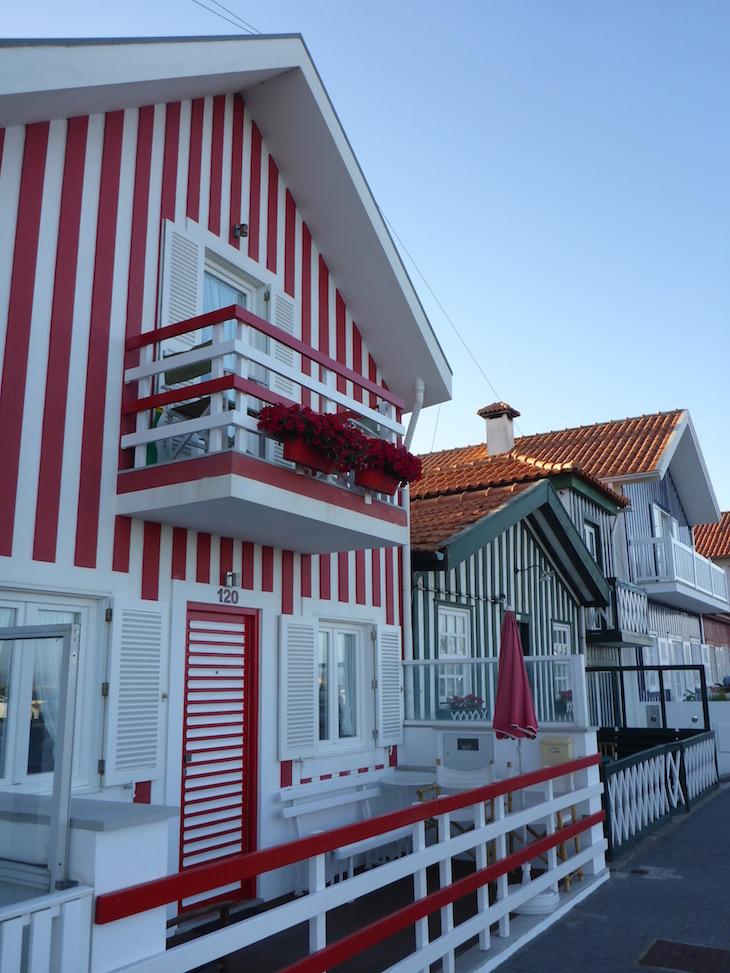 Casa vermelha da Costa Nova, Aveiro © Viaje Comigo
