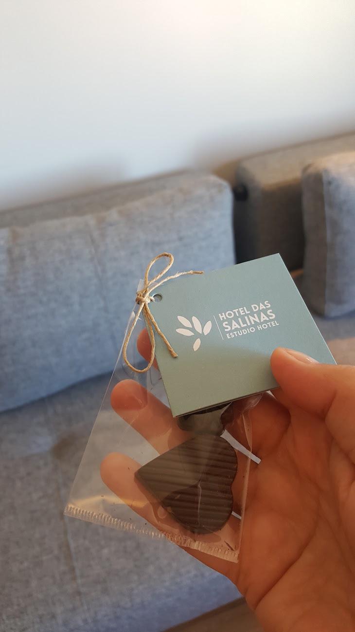 Chocolates no Hotel das Salinas, Aveiro © Viaje Comigo ®