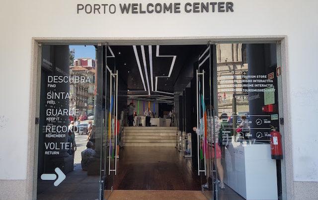 Entrada do Porto Welcome Center © Viaje Comigo