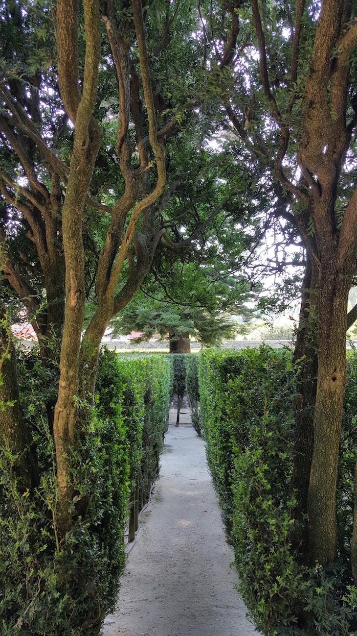 Entrada no labirinto da Casa e Quinta da Prelada © Viaje Comigo®