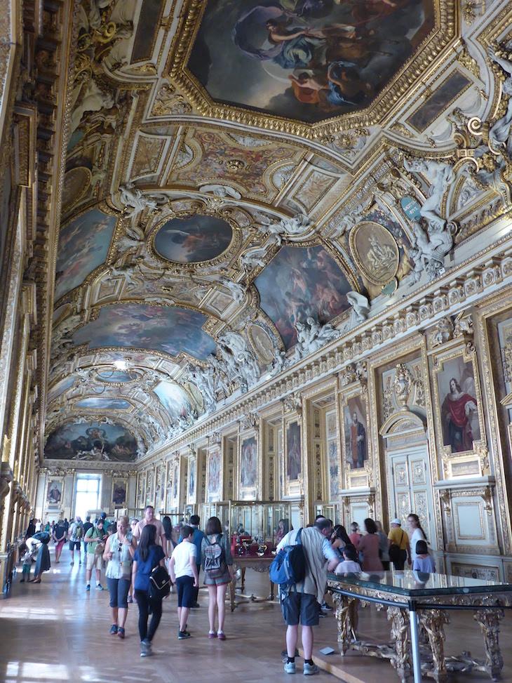 Galeria Apolo -Museu do Louvre, Paris © Viaje Comigo