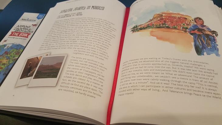 História de livro Navigator © Viaje Comigo