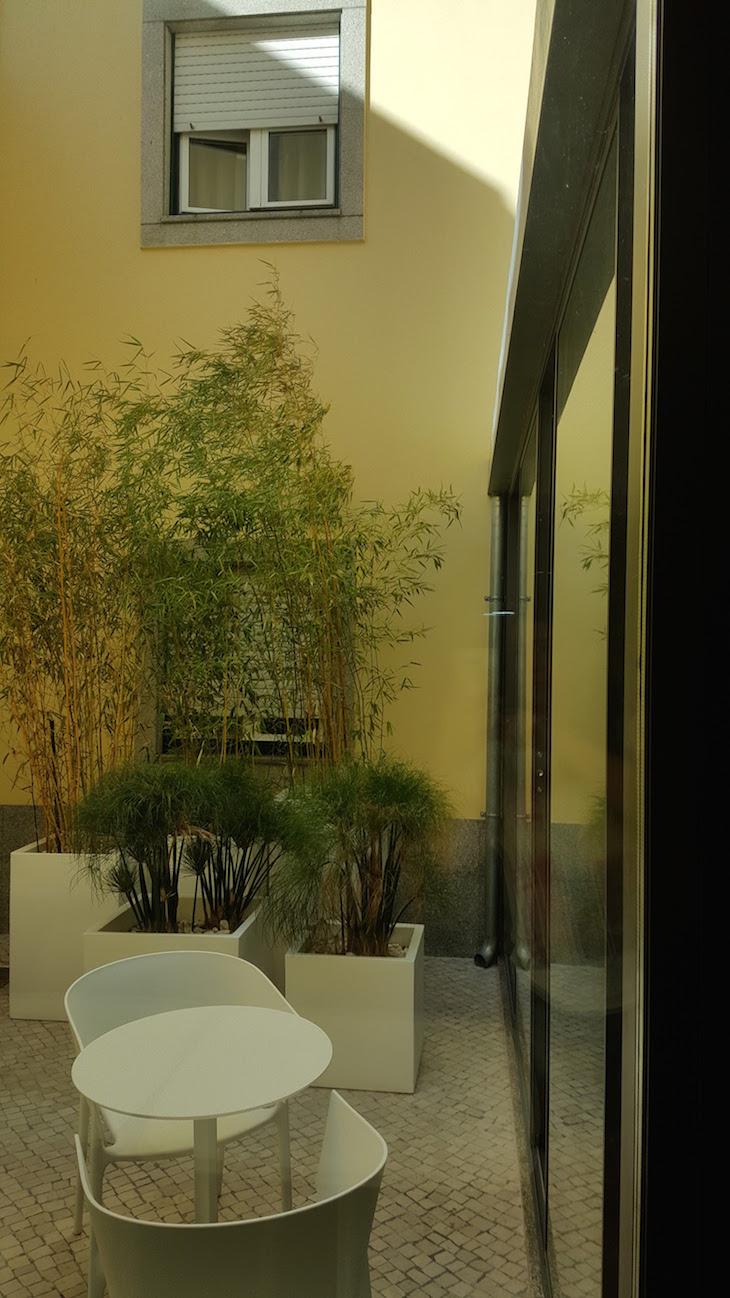 Jardin interior - Hotel das Salinas, Aveiro © Viaje Comigo ®