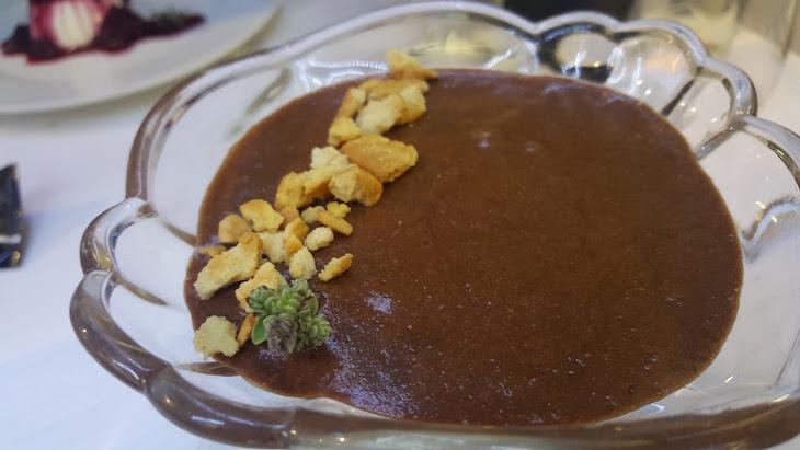 Mousse de chocolate -Canastra do Fidalgo, Costa Nova © Viaje Comigo