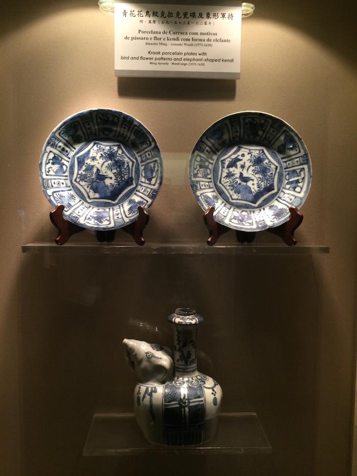 Porcelanas no Museu de Macau © Viaje Comigo