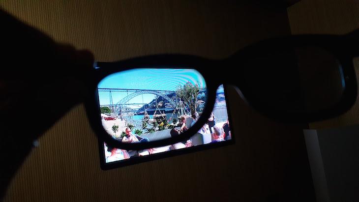 Óculos 3D - Porto Welcome Center © Viaje Comigo