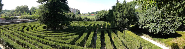 Panorâmica do Labirinto da Casa e Quinta da Prelada © Viaje Comigo®
