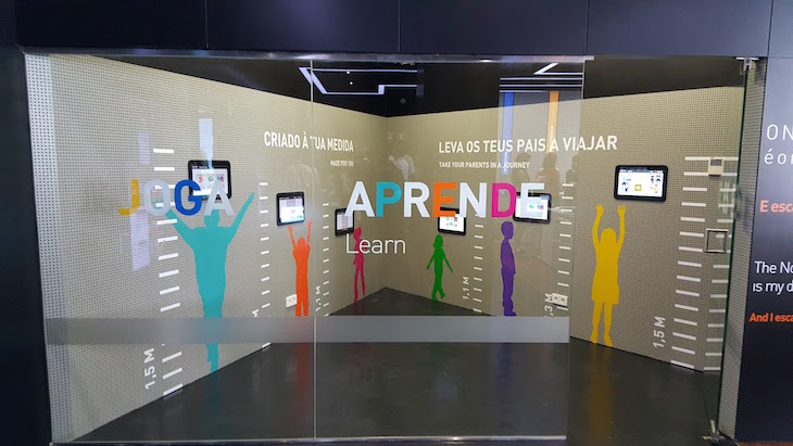 Para crianças no Porto Welcome Center © Viaje Comigo
