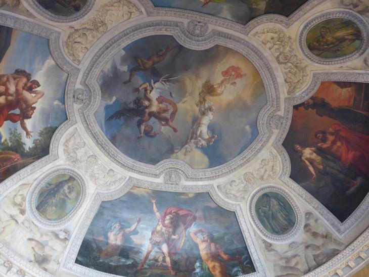 Pinturas nos tetos do Museu do Louvre, Paris © Viaje Comigo