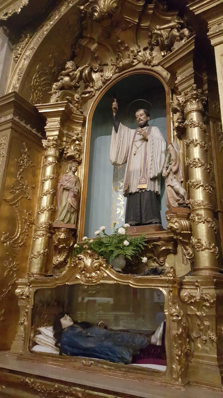S. Francisco Xavier e Senhora da Boa Morte - Igreja de Santo Ildefonso, Porto © Viaje Comigo