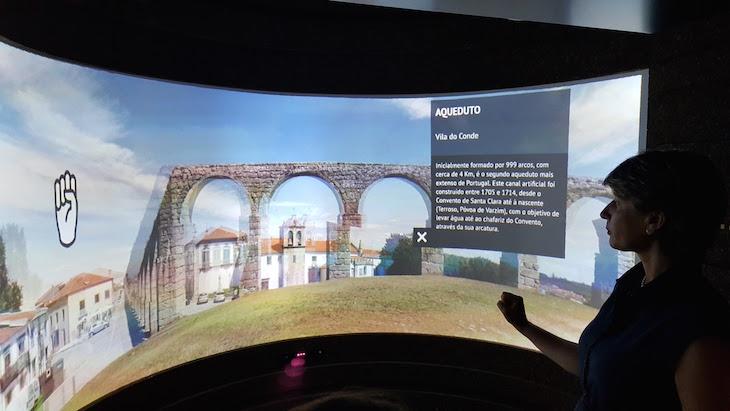 Sala 360º no Porto Welcome Center © Viaje Comigo