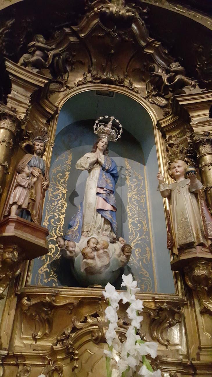 Sra da Conceição e Menino Jesus . Igreja de Santo Ildefonso, Porto © Viaje Comigo