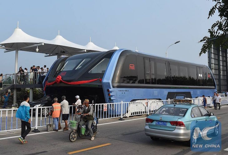 TEB - Transit Elevated Bus- New China