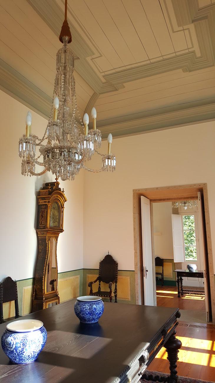 Teto de madeira da Casa e Quinta da Prelada © Viaje Comigo®