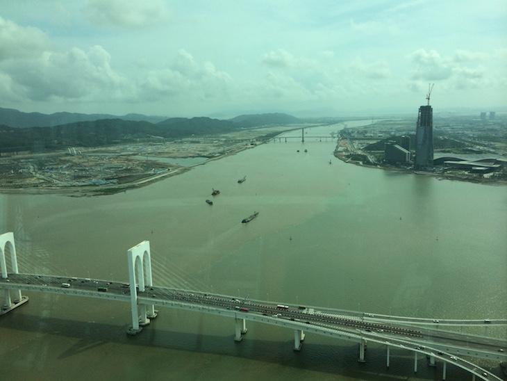 Vista da Torre de Macau © Viaje Comigo