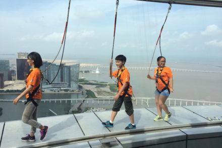 Passeios a 233 metros do chão - Torre de Macau © Viaje Comigo®
