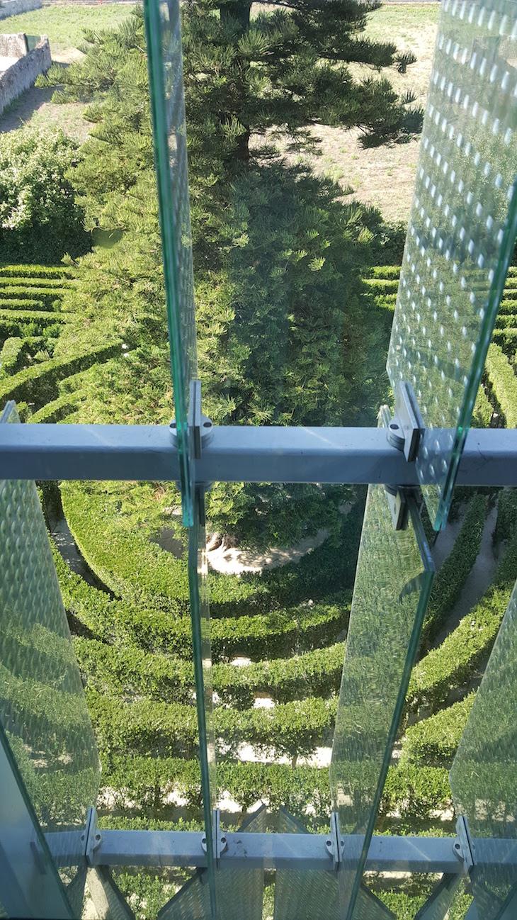 Vista para o Labirinto da Casa e Quinta da Prelada © Viaje Comigo®