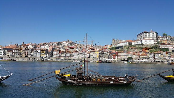 Barcos Rabelos, Rio Douro, Porto © Viaje Comigo
