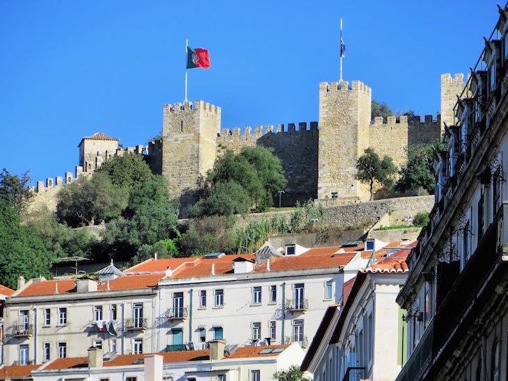 Castelo Sao Jorge © Dezalb Pixabay
