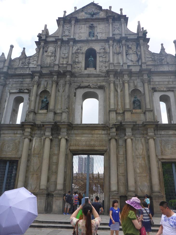 Fachada das Ruínas de São Paulo, Macau © Viaje Comigo
