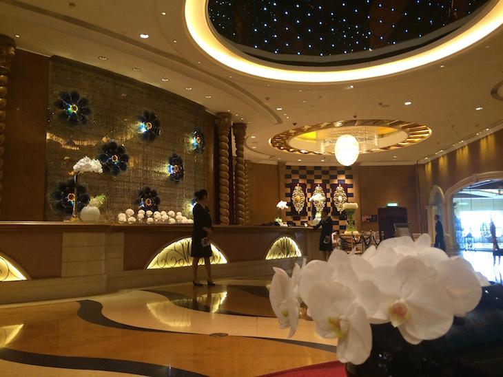 Receção do Sofitel Macau At Ponte 16 © Viaje Comigo