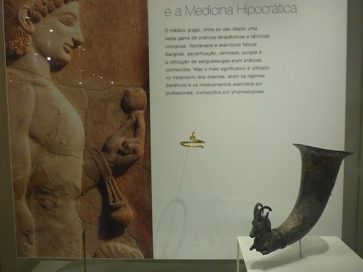 Ritão, Pérsia, século I a.C. - Museu da Farmácia © Viaje Comigo
