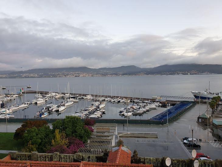 Vista do Hotel Ciudad de Vigo- Galiza © Viaje Comigo