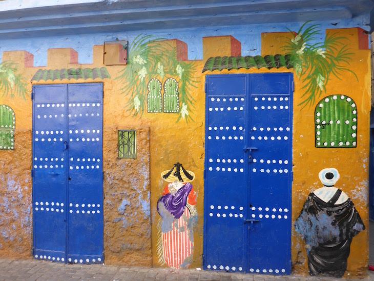 Em Tânger - Marrocos © Viaje Comigo