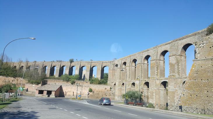 Aqueduto de Nepi, Itália © Viaje Comigo
