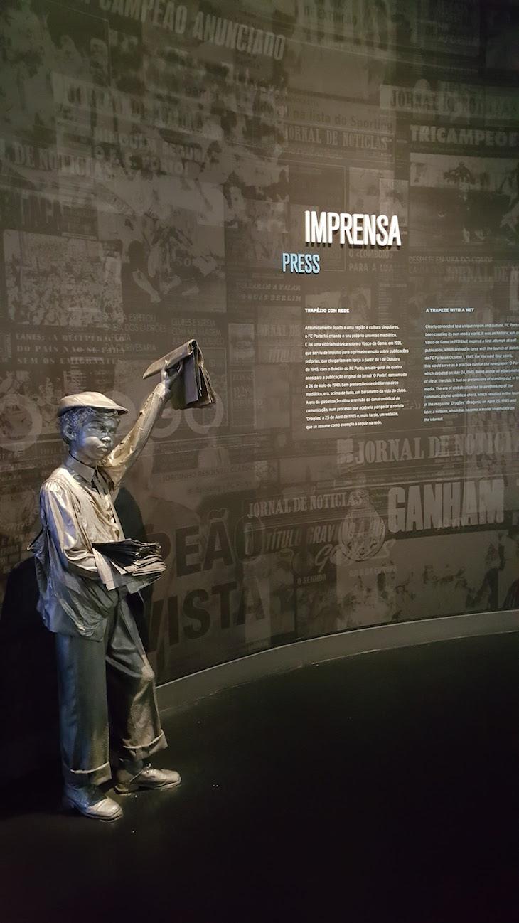 Ardina no Museu do Futebol Clube do Porto © Viaje Comigo