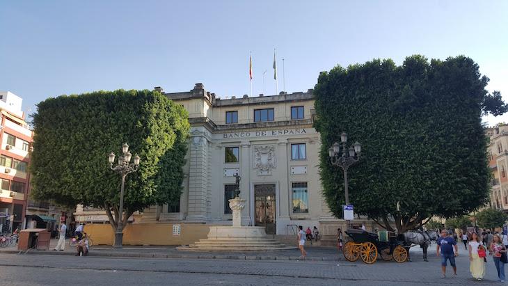 Banco de Espanha - Sevilha © Viaje Comigo