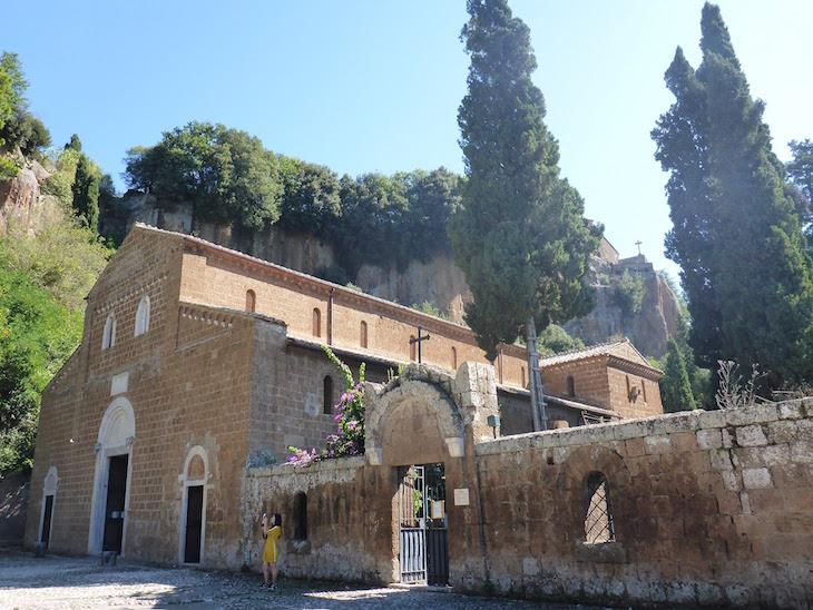 Basilica de Castel Sant'Eli-Itália © Viaje Comigo